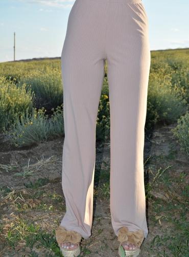 Παντελόνι ριγέ ελαστικό
