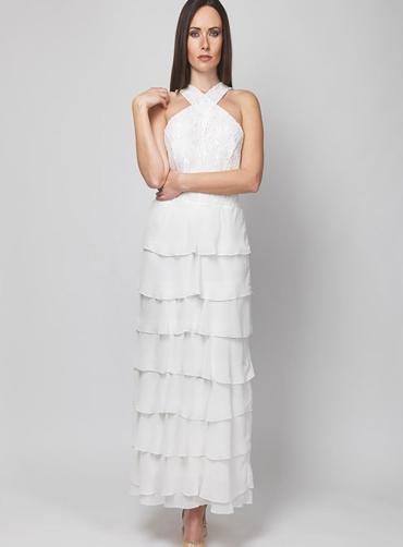 Φόρεμα δανδέλα  8 βολάν