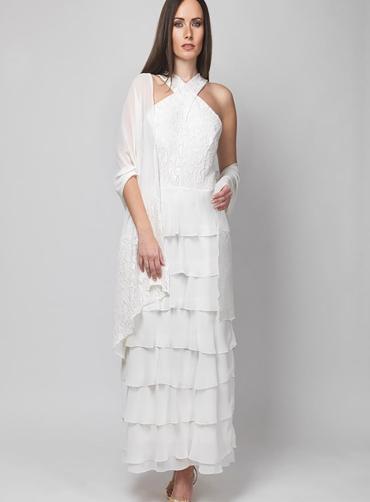 Φόρεμα δανδέλα  βολάν