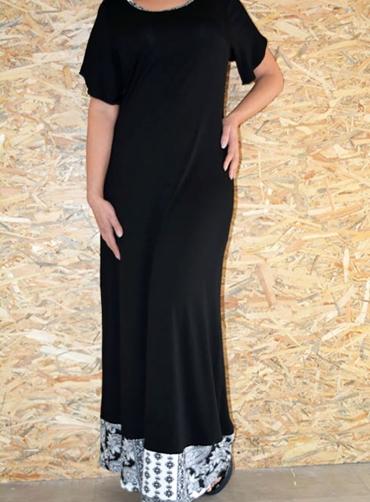 Φόρεμα maxi βισκόζ